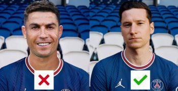 Fake Christiano Ronaldo Phot PSG